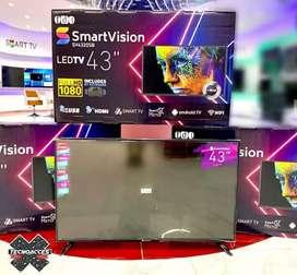 Televisor marca Smartvision de 43 pulgadas