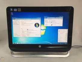 "COMPUTADOR TODO EN UNO HP PRO 3420 AIO PC 20"" INTEL CORE I3 - 2120 3.3GHZ 4GB 500GB WIN 10 PRO DVD-RW BLUETOOTH WIFI"