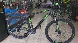 Precio loco Bicicleta gw Wolf 27.5 talla L 9v hidraulico