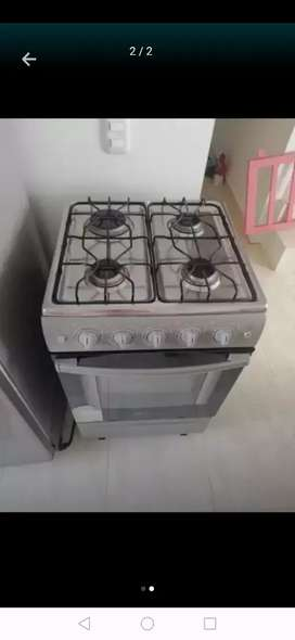 Estufa con horno centrales