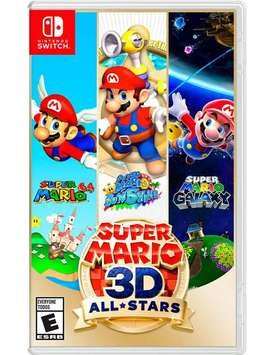 Super Mario 3D / Nintendo Switch (Físico)
