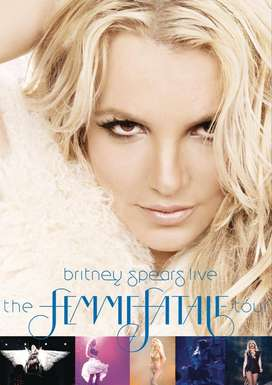 DVD y CD original usado Britney Spears Live: The Femme Fatale Tour y Britney