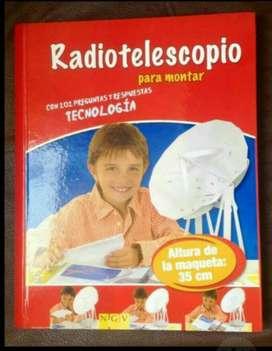 Radiotelescopio para Armar en 3d. Excelente para Regalo.