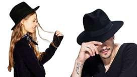 Sombrero Fedora Hombre Mujer Gardel Sol Uv Elegante Fiesta