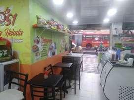 Excelente oportunidad Vendo restaurante y cafeteria en Chapinero