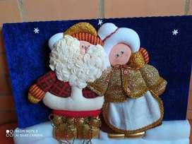 Cuadro navideño en patcwork
