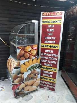 Vendo Montaje Completo de Panaderia Ganga