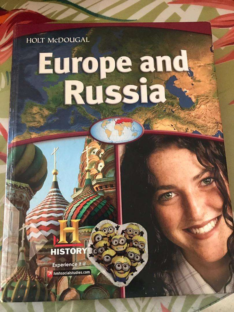 Europe and Russia- Holt McDougal 0