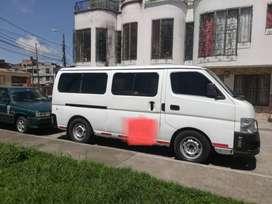 Vendo micro bus Nissan Urban 2005