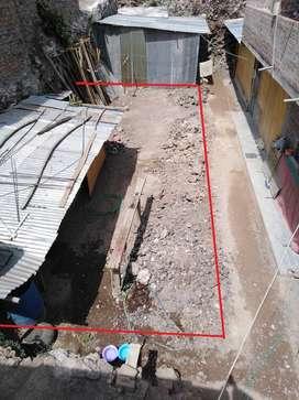 Venta de terreno en interior  78.11 m2 ubicado en la avenida Víctor SN