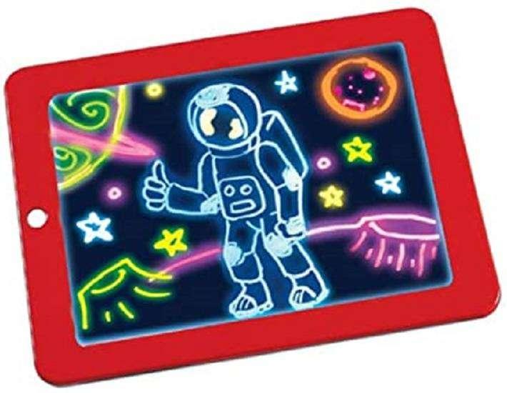 Tablero Dibujo Led Creativo Arte Magic Board Tablero Niños