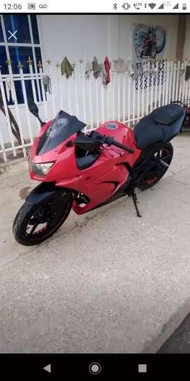 Hermosa ninja 250 Kawasaki