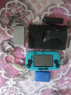 Nintendo Wii U programado más disco duro con juegos