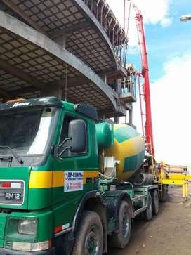 Concreto Premezclado, mixer, plantas, bombas de concreto