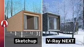 Video Curso Completo Diseño arquitectónico de exteriores con VRay