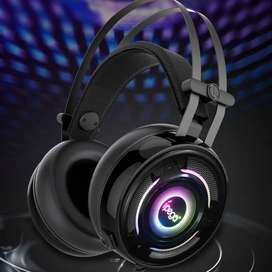 Audifono Diadema Gamer Ipega PG-R008 Con Luz Led Rgb para Pc, Ps4 Y Xbox One