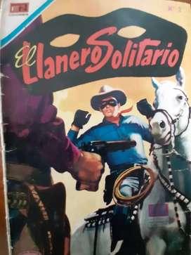 Revista de El llanero solitario. Ejemplar # 1 y 2.