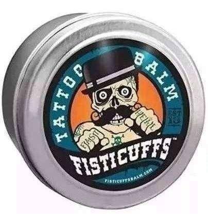 Crema Protectora Fisticuffs Para Tattoo Balm Env Inmediato 0