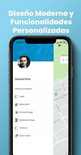 Busco socio inversionista por el 40% para app automatizada para taxis y mensajería.