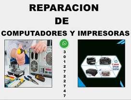 TECNICO DE MANTENIMIENTOS DE COMPUTADORES Y IMPRESORAS