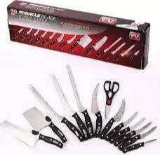 Set De Cuchillos X 13 Piezas Mibacle Blade Corte Profesional