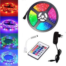 Cinta luces led rgb x5 metros