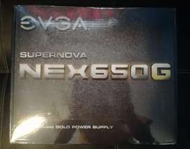 Fuente PC EVGA Supernova 650W 80 plus Gold