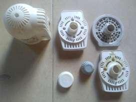 Carcasa plástica de ventilador