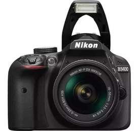 Vendo cama Nikon D3400