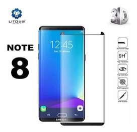 Vidrio Templado Uv Full Glue Para Samsung Note 9 Note 8
