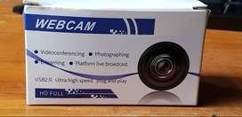 Full Hd 1080p WebCam Con luz Led (Nuevo)