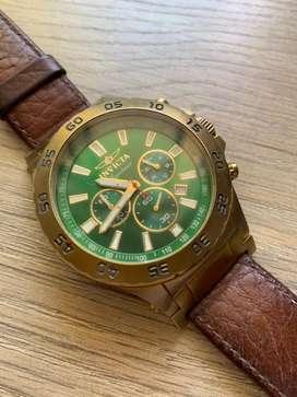 Reloj Invitcta Signature 2 con manilla de cuero
