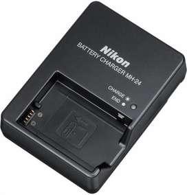 Cargador Nikon Mh24 Mh 24 Genuino Usado para Pila ENEL14 D5300 D5600