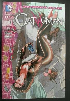 Catwoman 1 ECC sudamericana comic book.