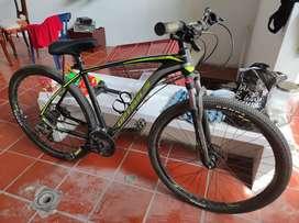 Bicicleta optimus rin 29 talla m hidráulica