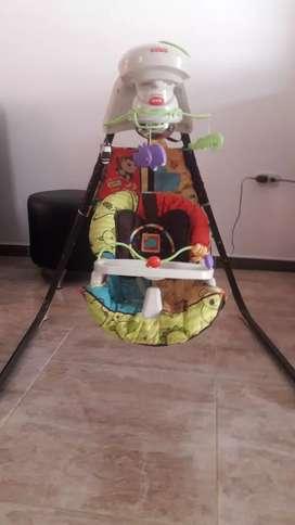 Columpio electrico y movil para bebes fisher price