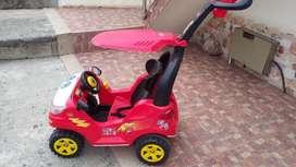 Barato Carro Paseador Push Car Adventure