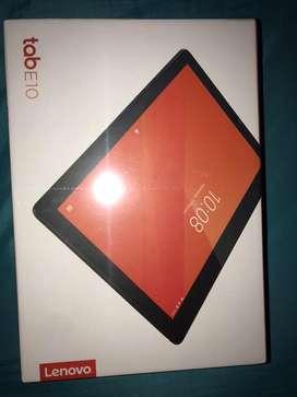 Tablet Lenovo e10 nueva