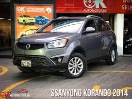 Ssanyong Korando 2014 como nuevo!!