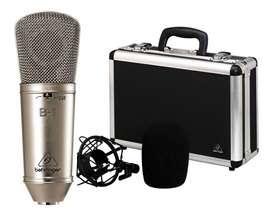 Equipos de Audio, Micrófonos, Mezcladora (Behringer, Rode)