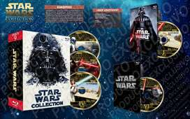 Star Wars Coleccion Completa Latino Hd