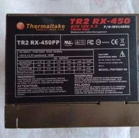 Fuente de poder Thermoltake 450 Watts (Uso de 2 meses)