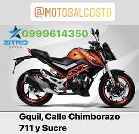 Moto Zitro 200cc Panel Digital 6 Marchas Precio de Fabrica con Garantia