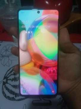 Samsung A71 sin detalles