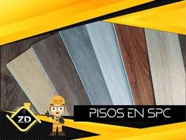 PISOS SPC - PVC