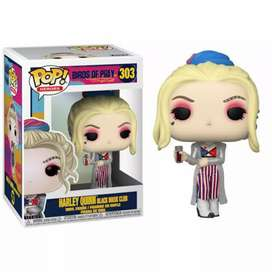Funko Pop Harley Quin Black Mask Club Aves de Presa Película  Birds of Prey