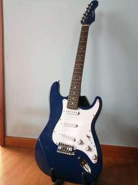 Guitarra electrica Derulo Jason Series + Estuche y accesorios
