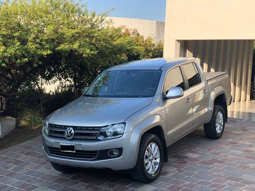 Amarok - 2.0 Cd Tdi 4x2 Highline Pack C33 - con factura A 0