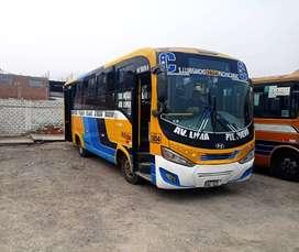 Omnibus Urbano HYUNDAI, Euro IV. Modelo 2018