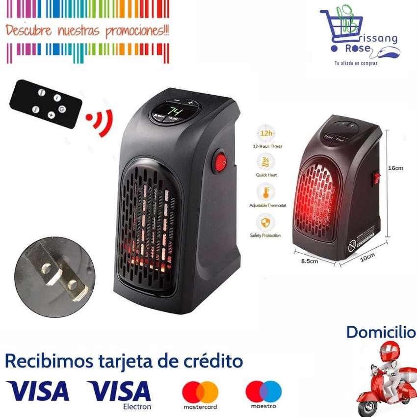 Calefactor Calentador de Ambiente Portátil con Control Remoto y Temporizador